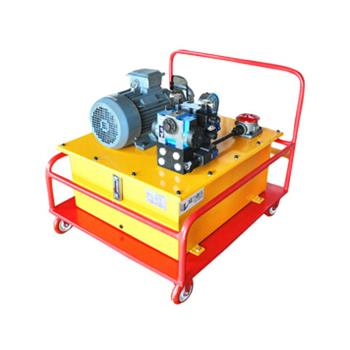 机械设备工作依靠超高压双向手动液压泵