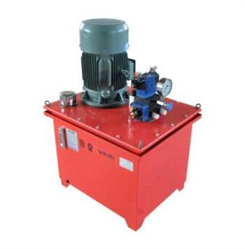 液压泵转动需要动力
