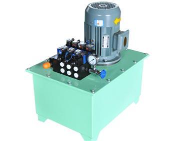 多油缸多换向阀控制液压站