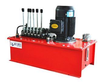 多路分配液压系统